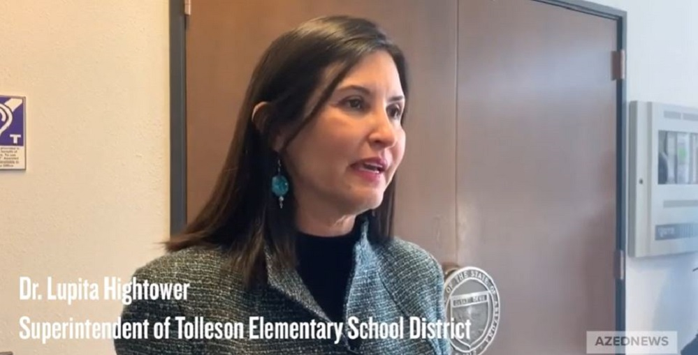 Dr. Lupita Hightower Says She's Interested In Hearing What Supt. Of Public Instruction Kathy Hoffman Has To Say At The House Education Committee On Feb. 3, 2020. Photo By Morgan Willis/ AZEdNews