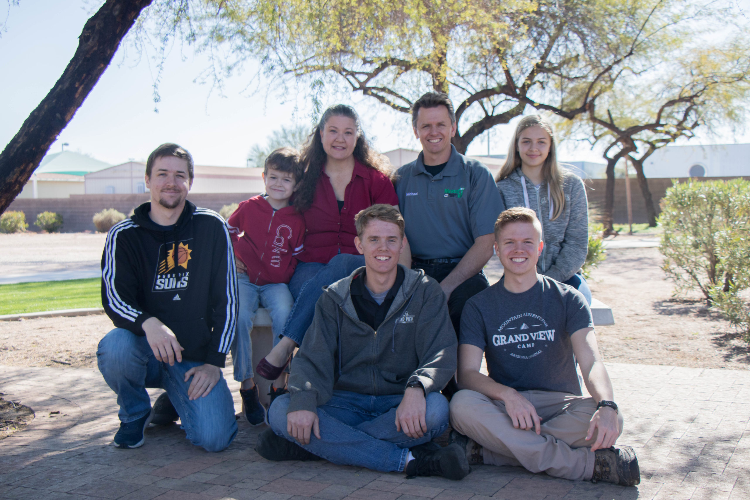 Rebecca And Michael Glandon Of Chandler Say Career And Technical Education At The East Valley Institute Of Technology Has Not Only Changed The Lives Of Their Children, But Transformed Their Entire Family. Photo Courtesy EVIT