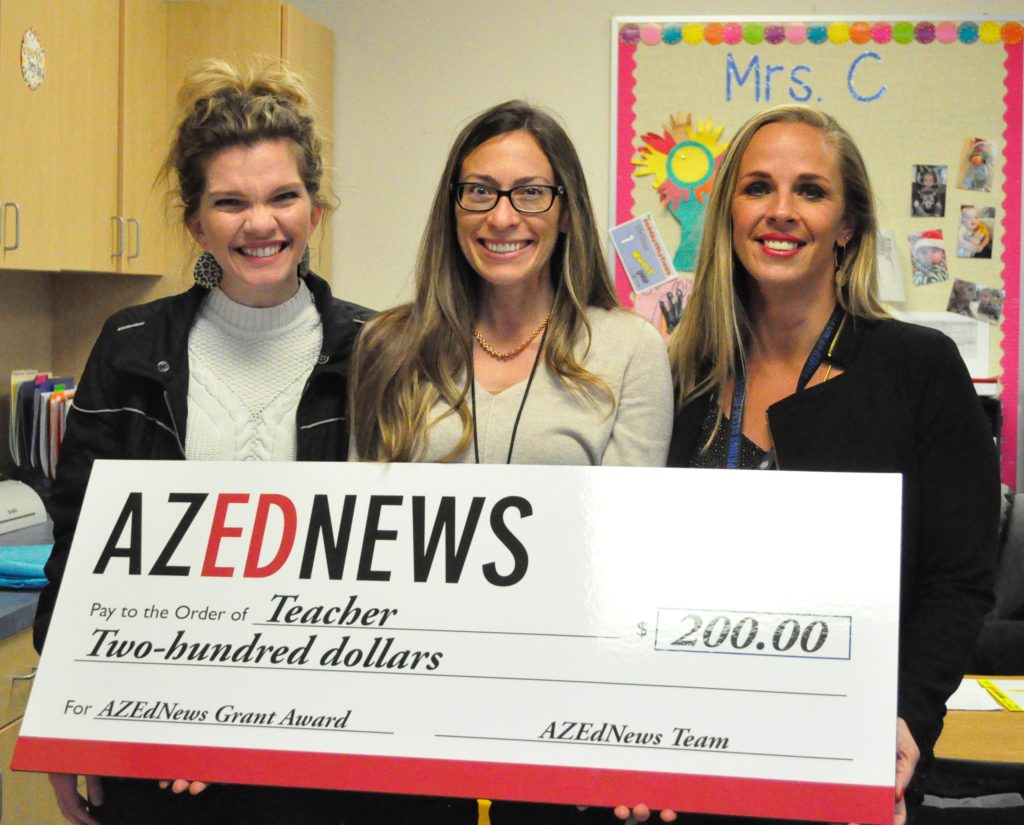 AZEdNews classroom grant awarded to Canyon Springs STEM Academy teacher LaRae-Klay-5-Cropped-1024x825