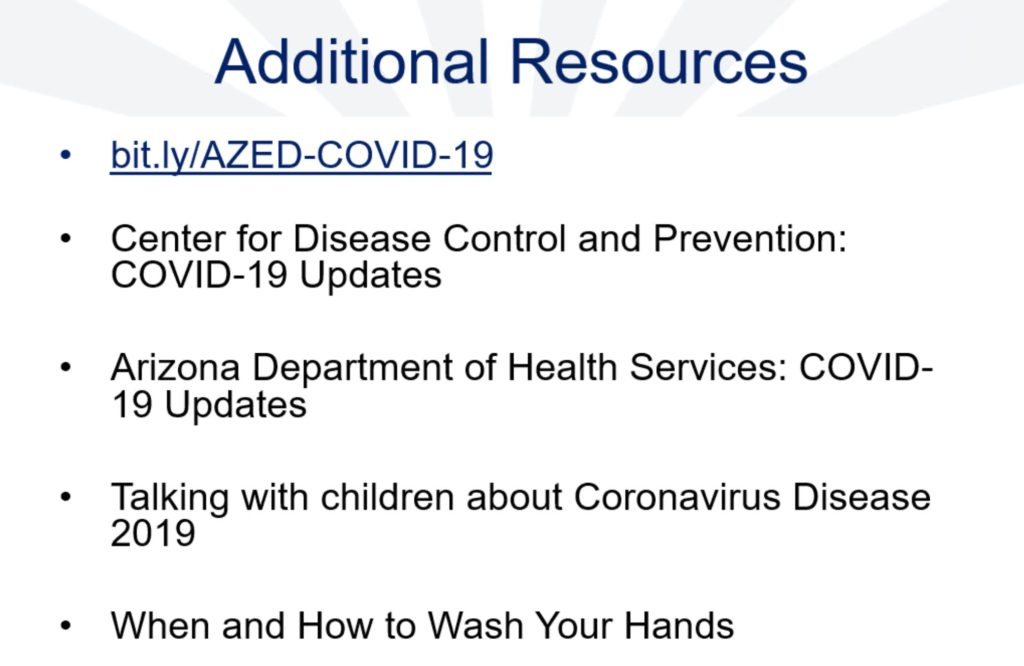 Coronavirus response: Cases rise; AZ Day of Giving Additional-resources-1024x666