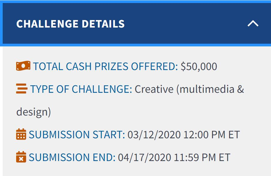 Census 2020 Video Challenge Details