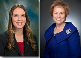 Rep. Michelle Udall, Left, And Sen. Sylvia Allen, Right. Photos Courtesy Arizona Legislature