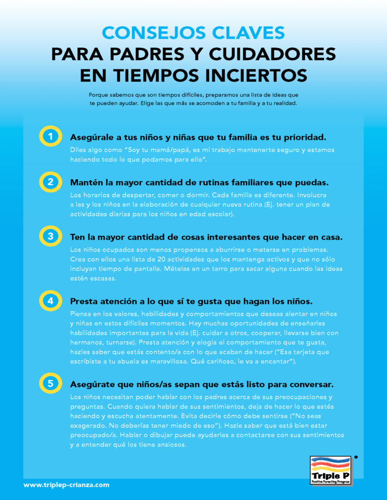 Parenting tips for uncertain times top-tips-COVID19-Spanish-triple-p-consejos-claves-en-tiempos-inciertos_Page_1-792x1024