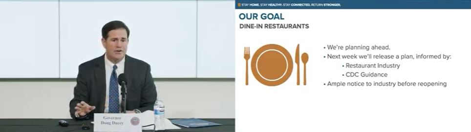 Stores re-open, COVID-19 testing blitz resumes on Saturday 4-29-dine-in-restaurants
