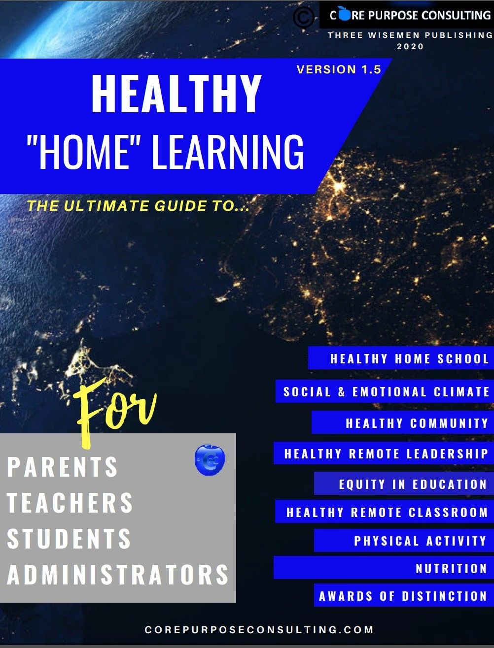 Healthy Home Learning Graphic From Core Purpose Consulting