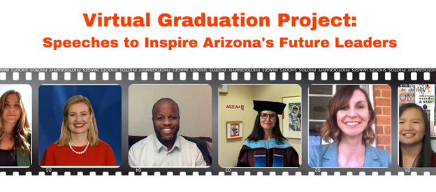 We May Not Have Alicia Keys, Former President Obama, The K-pop Sensation BTS, Lady Gaga Or Malala, But We Do Have A Few Mayors, Teachers, Superintendents And Business Leaders Who Will Be Sharing Their Wisdom In Graduation Speeches Through The Virtual Graduation Project: Speeches To Inspire Arizona's Future Leaders. Photo Courtesy Inspired Connections