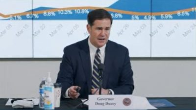 Michael Drake Will Be The First Black President In U.C. System's 152-Year History 6-29-Gov-Ducey-News-Conference-Cropped-400x225