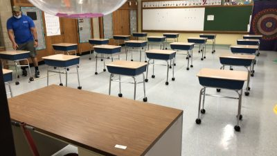 Michael Drake Will Be The First Black President In U.C. System's 152-Year History Empty-classroom-400x225