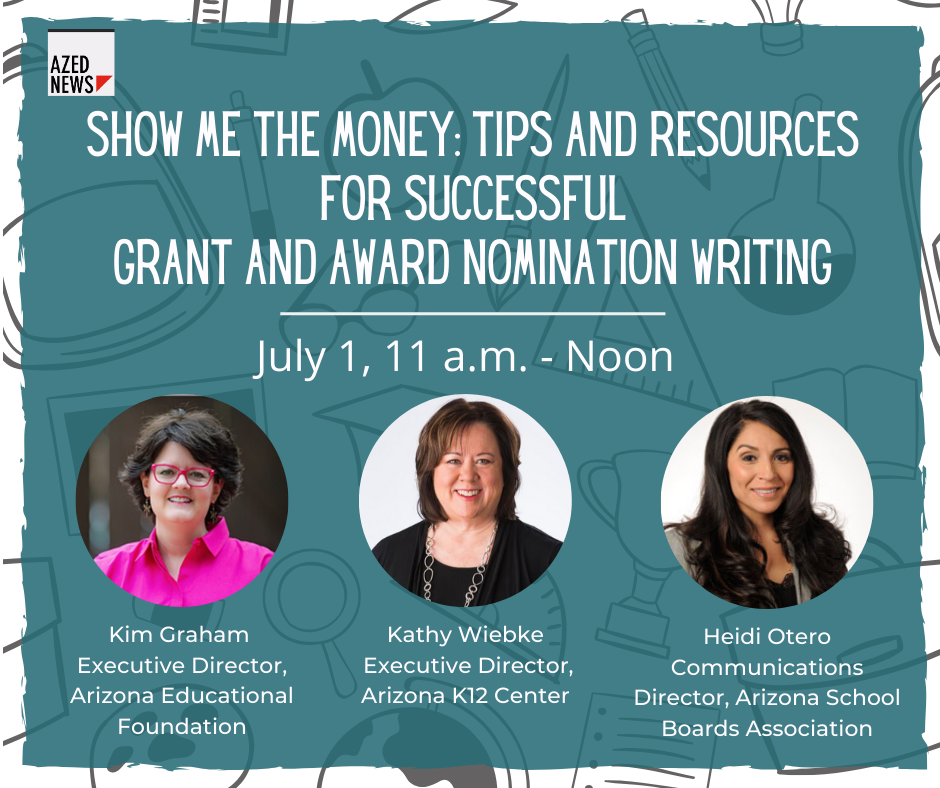 WEBINAR: Show me the money: Tips and resources for successful grant and award nomination writing Grant-Writing-Webinar-HP-image-1