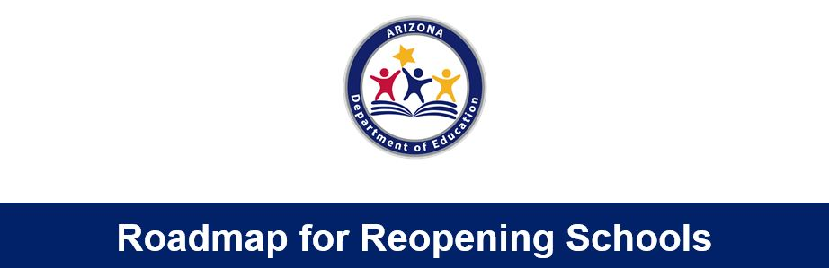Roadmap For Reopening Schools Graphic
