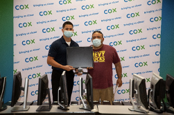 Computers Are Part Of Virtual Learning And Cox Continues To Partner With Local Schools And Organizations Which Has Allowed For The Distribution Of Hundreds Of Refurbished Computers To Students In Arizona. Families Can Also Receive Information On Discounted, Refurbished Computer Equipment Available Through Our Association With PCs For People At Cox.pcsrefurbished.com Photo Courtesy Of Cox