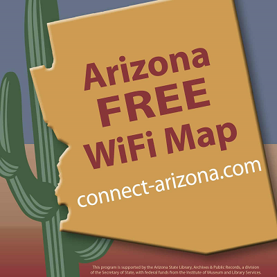 How schools ensure students' tech, Wi-Fi access to support online learning Arizona-Connect-wifi-map-graphic-400