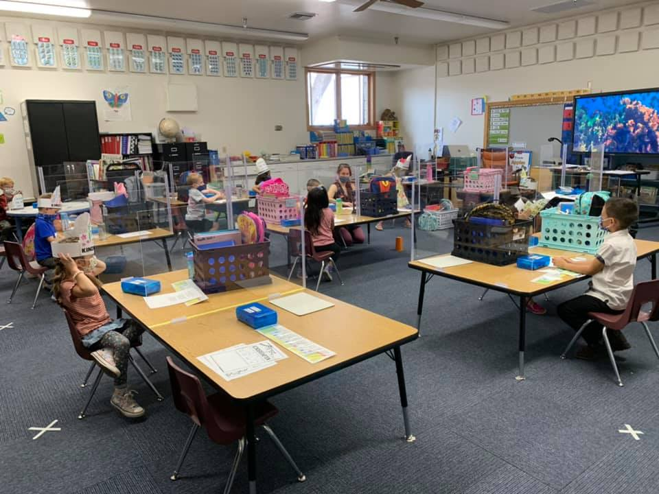 A new back-to-school item: Face masks Prescott-Unified-Classroom-first-day-of-school