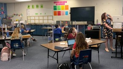 Bridging Distance for Learners With Special Needs Prescott-Unified-Teacher-and-students-in-class-2-400x225