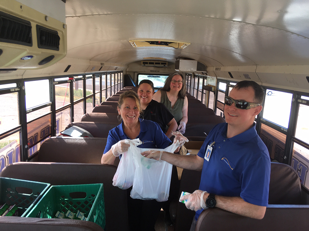 The Bullhead City Elementary And Colorado River Union High School Districts Are Expanding Free Meal Programs Available To Students On Campus And Attending School Online.