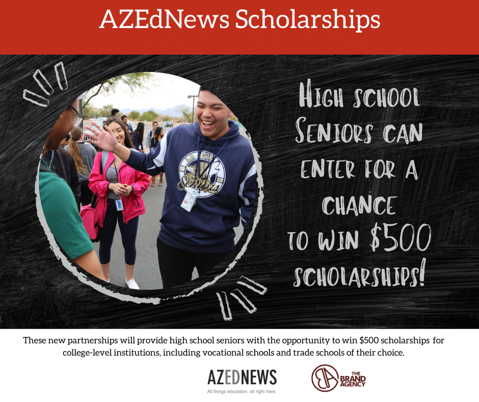 Apply now for AZEdNews Scholarships sponsored by The Brand Agency Year-2-Updated-AZEdNews-The-Brand-Agency-Scholarship