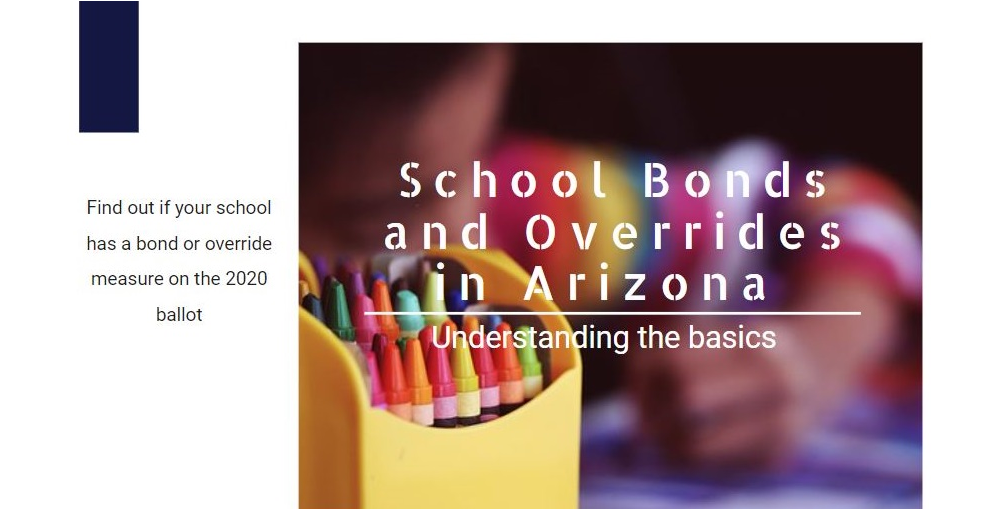 A Portion Of The School Bonds And Overrides In Arizona - Understanding The Basics Infographic By Angelica Miranda/ AZEdNews