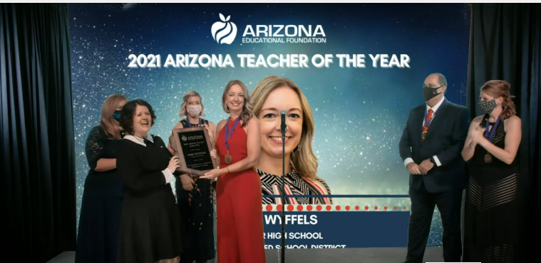 Arizona Educational Foundation's 2021 Teacher of the Year is Sara Wyffels Wyffels-2-Also