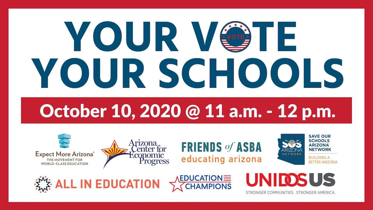 Your Vote Your Schools Event Logo