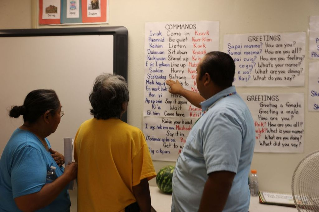 How including Native languages and cultures helps students learn and grow Family-Language-Night-at-SRES