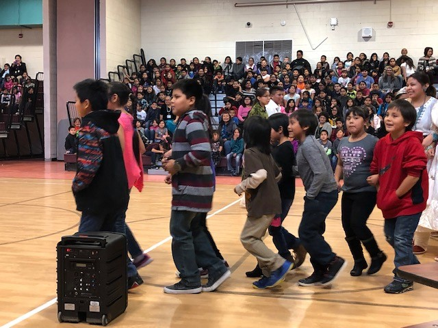 How including Native languages and cultures helps students learn and grow Rock-Point-Community-School-Dances-3