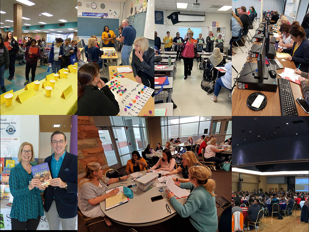 A Collage Of Teachers Attending Mathematics Educator Appreciation Day In Past Years. Photo Courtesy Center For The Recruitment & Retention Of Mathematics Teachers At The University Of Arizona
