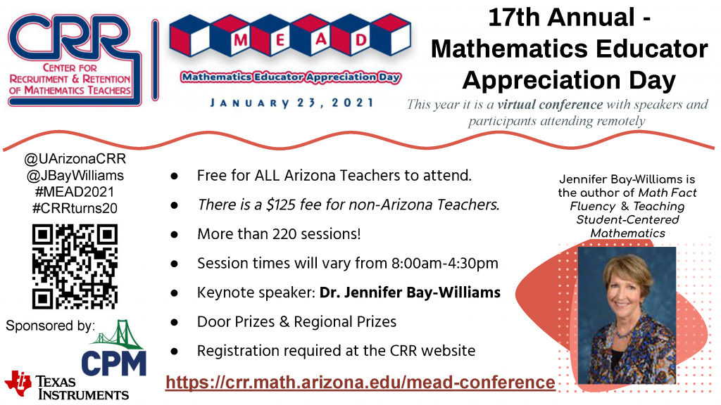 Teachers: Enhance math instruction at virtual conference MEAD-Flyer-2021-12-10-1024x576