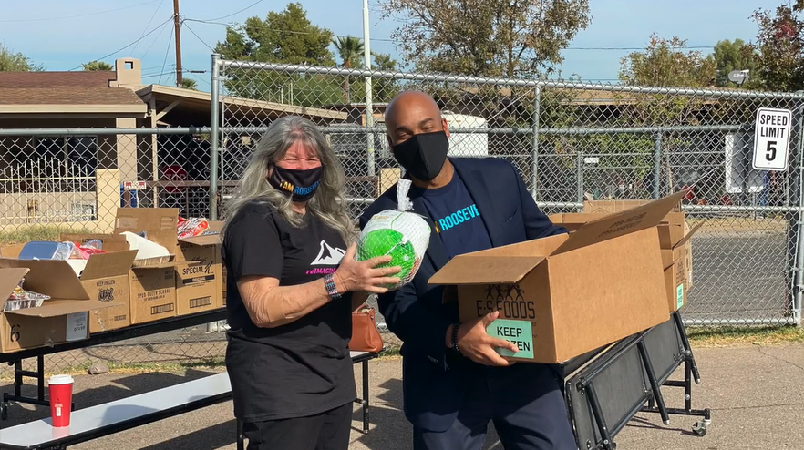 Roosevelt School District No. 66 Takes Care Of Its Community. Photo Courtesy Of Roosevelt School District No. 66