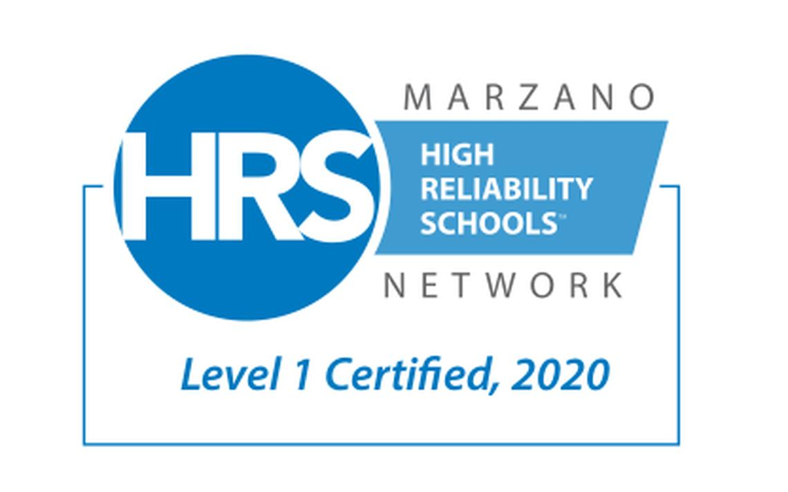 Level 1 Certified High Reliability Schools