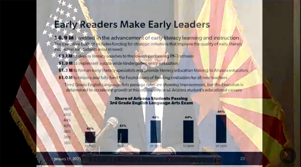 Video: Details of Gov. Ducey's proposed K-12 education budget Early-readers