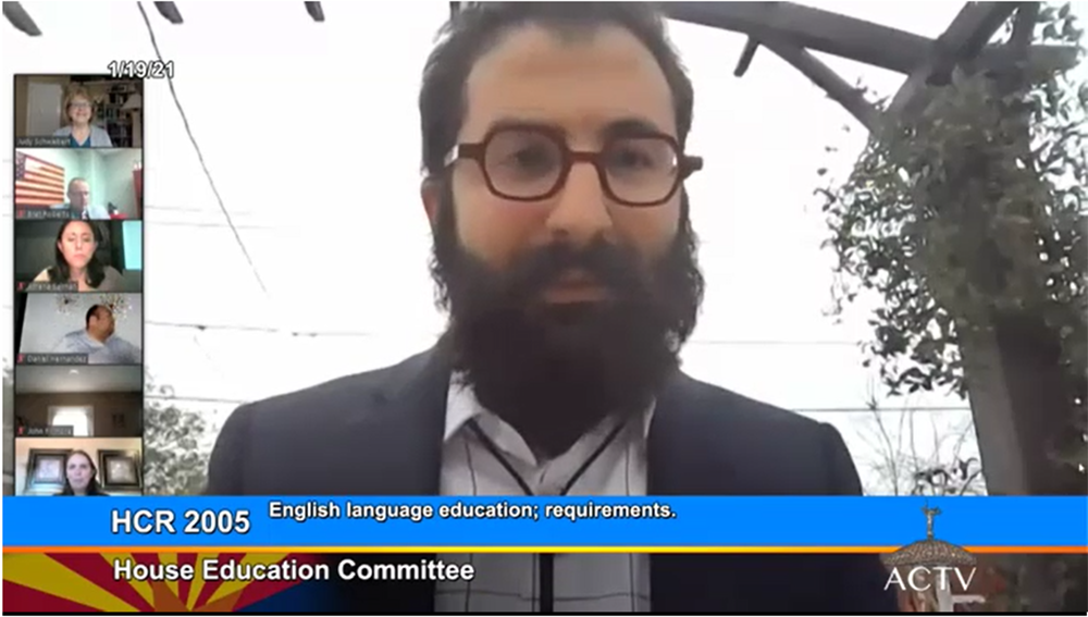 Video: House lawmakers support including English Learners in dual-language immersion Geoff-Esposito-w-Unidos