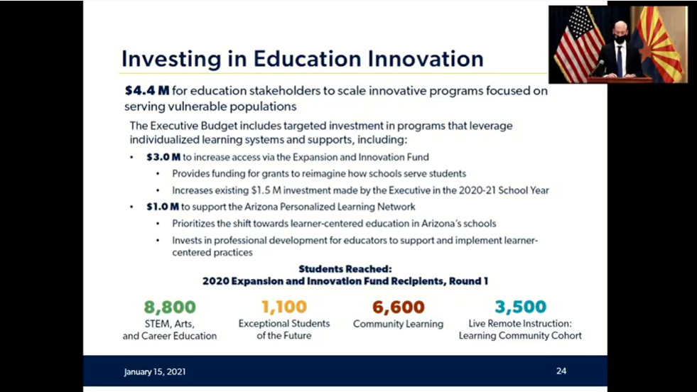 Video: Details of Gov. Ducey's proposed K-12 education budget Investing-in-Ed-innovation
