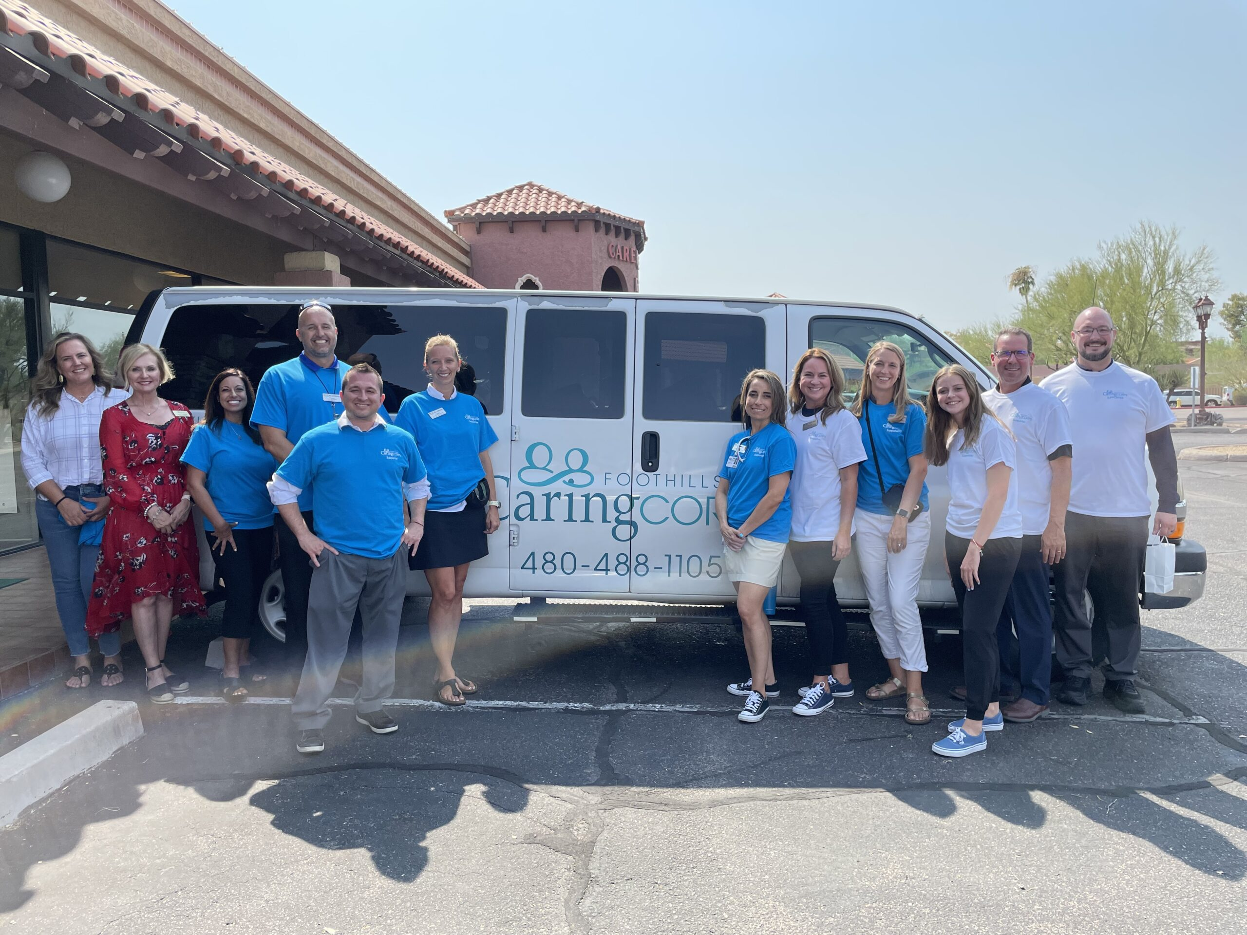 Administrators And Foothills Caring Corps