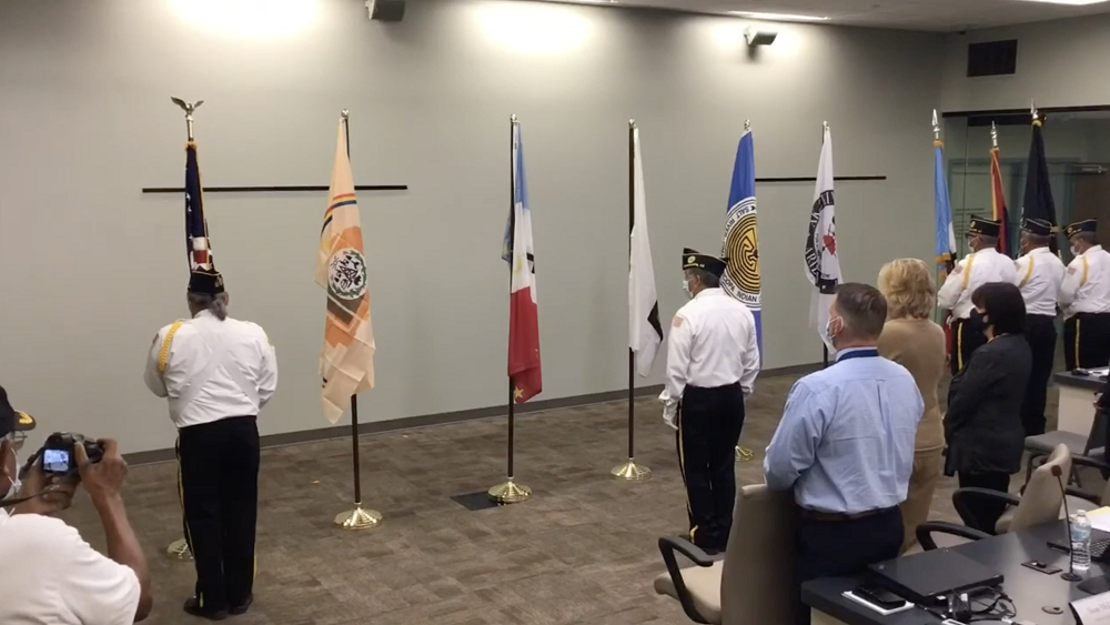In Addition To Providing Students And Teachers With Resources, Tempe Union Also Celebrated Indigenous People In Their Community During A Flag Ceremony That Honored And Installed Flags Of Five Tribal Communities They Serve During A Governing Board Meeting On Sept. 15, 2021. Photo Courtesy Tempe Union High School District